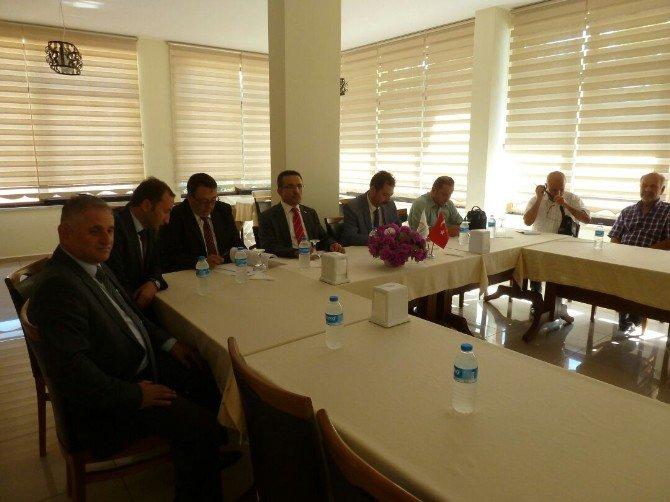 Kastamonu'da Cide'de Su Ürünleri Avcılığı Toplantısı