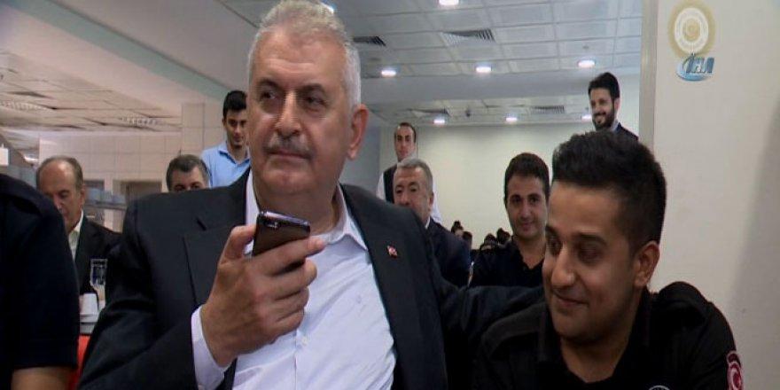 Yıldırım'dan Polise Bayram jesti: Kız istedi
