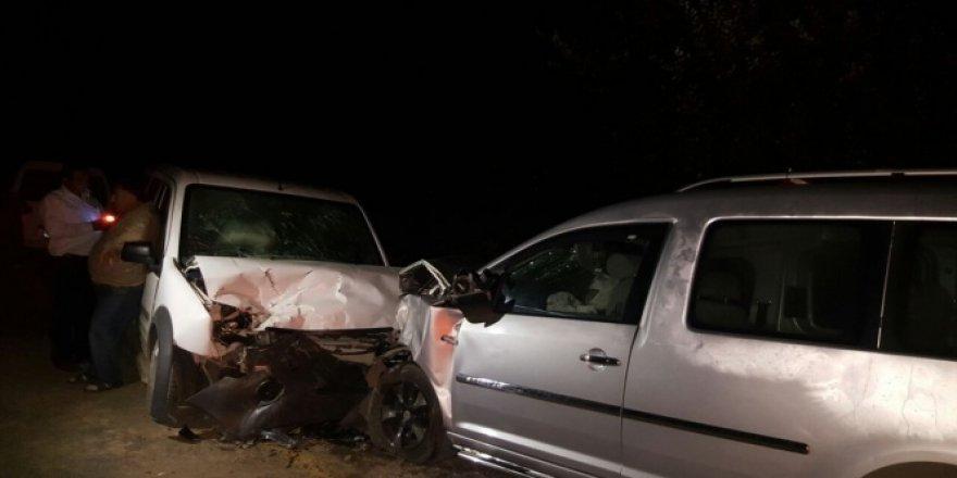 Kastamonu'da korkunç trafik kazası: 8 yaralı