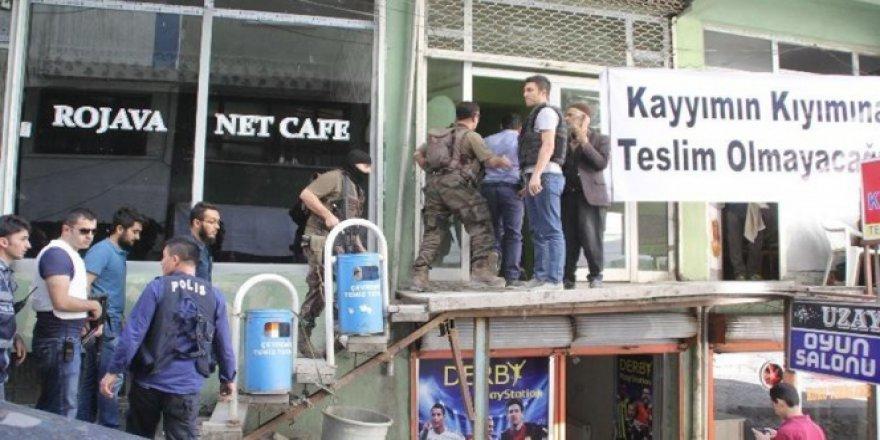 Hakkari'de açlık grevi eylemine polis müdahalesi