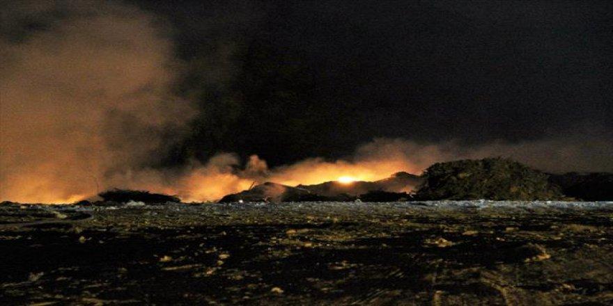 Muğla, Bodrum'da Yangın!