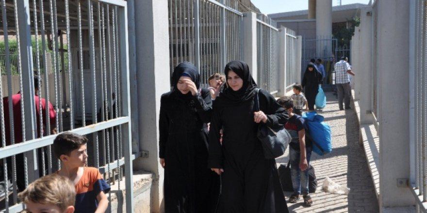 Suriyelilerin bayram dönüşü