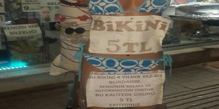 İzmir'de 4 yıldır satılmayan ürünü için ilginç yazı