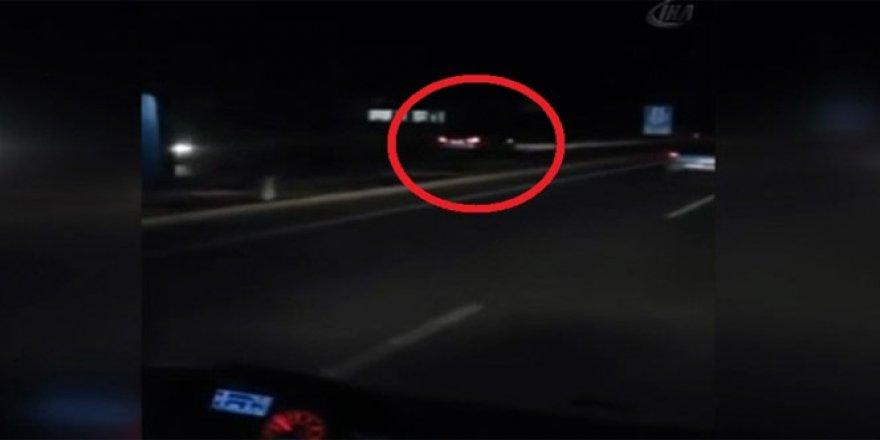 Afyonkarahisar'da ters şeride giren alkollü sürücü 2 kişiyi yaraladı