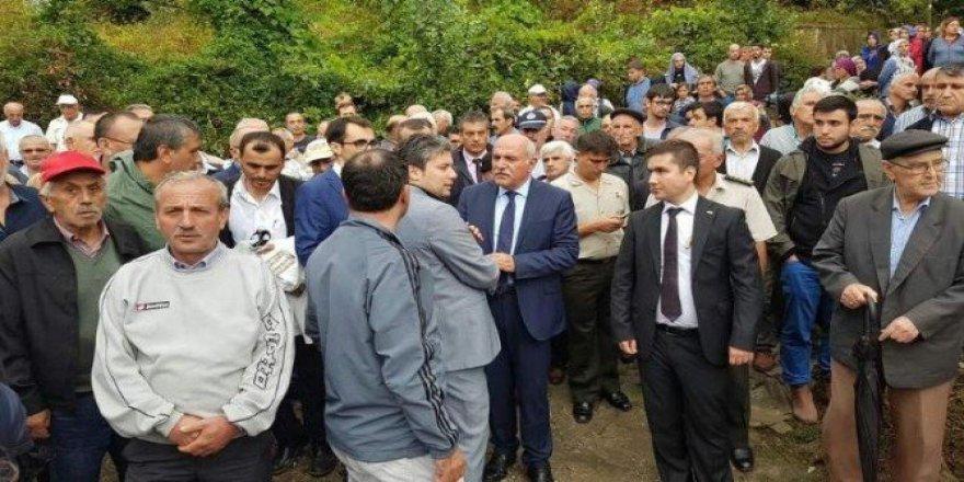 Sinop, Erfelek'te Yangında Ölen Yaşlı Adam Toprağa Verildi