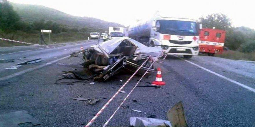 İzmir, Çamlık'ta Trafik Kazası: 1 Ölü, 14 Yaralı