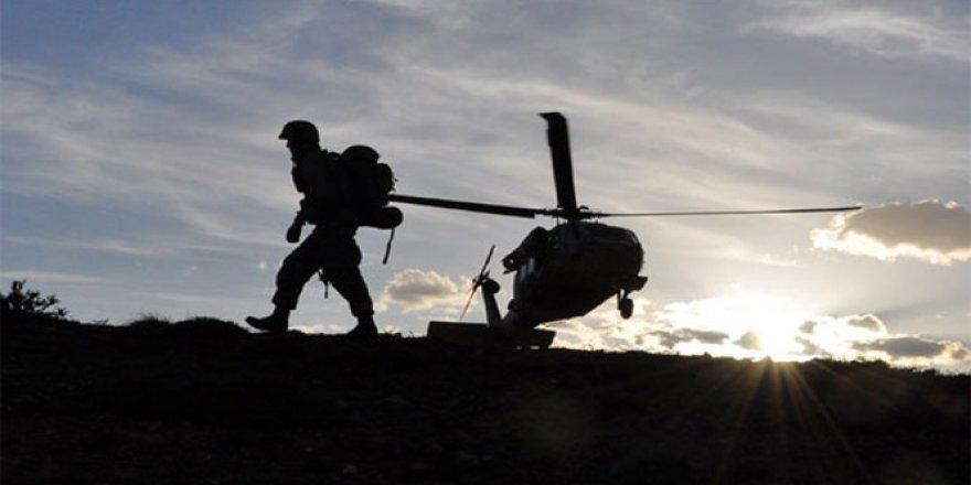Hakkari, Yüksekova ve Çukurca'da terör operasyonu