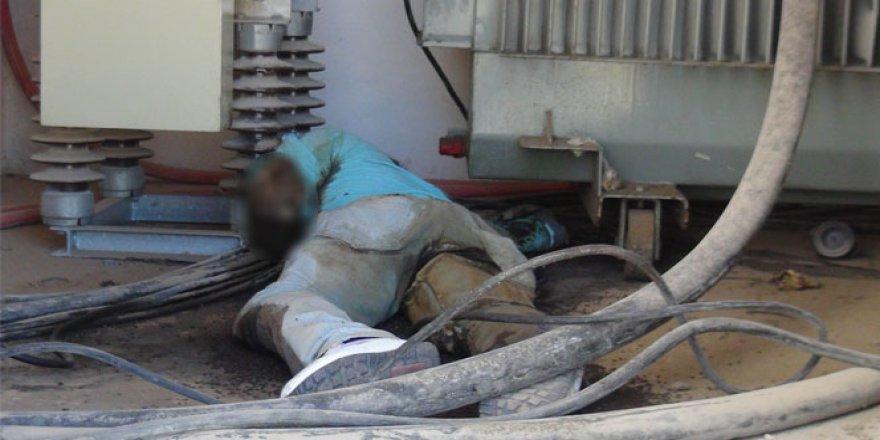 Şahinbey'de Talip Tekin trafoda ölü bulundu