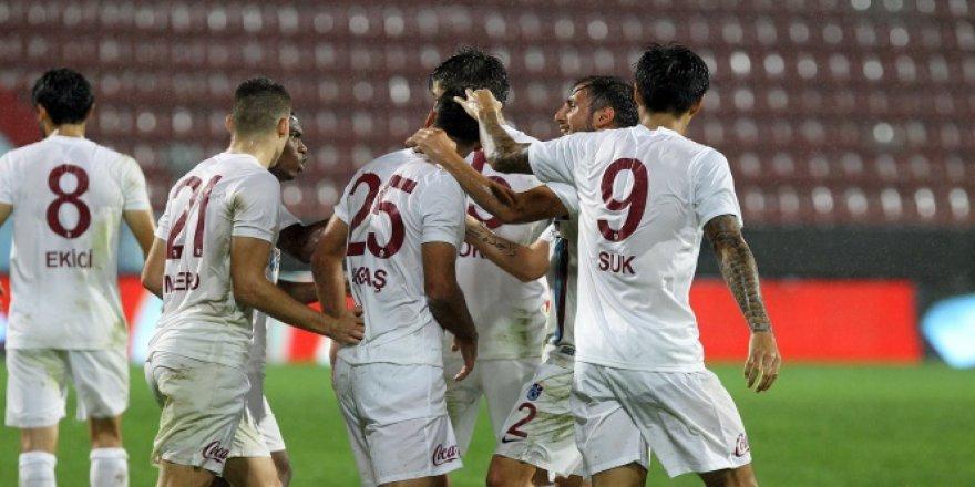 Ziraat Türkiye Kupası, Trabzonspor bir üst turda!