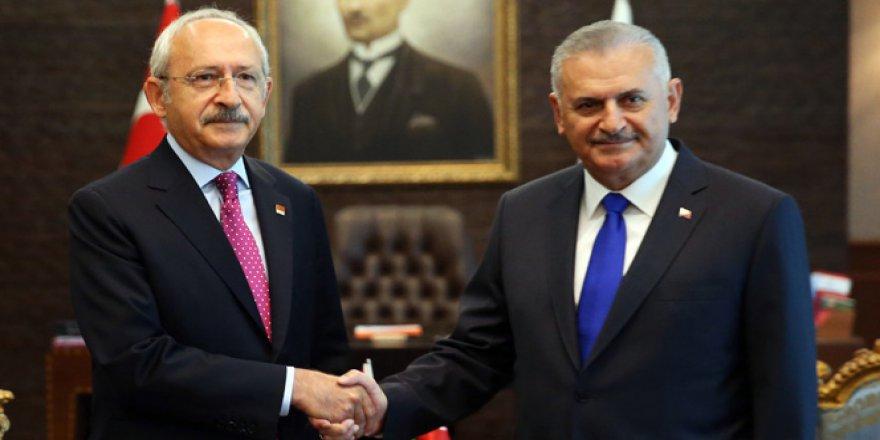 Başbakan Yıldırım ve Kemal Kılıçdaroğlu bir araya geldi! Kritik Görüşmede Neler Konuşuldu?