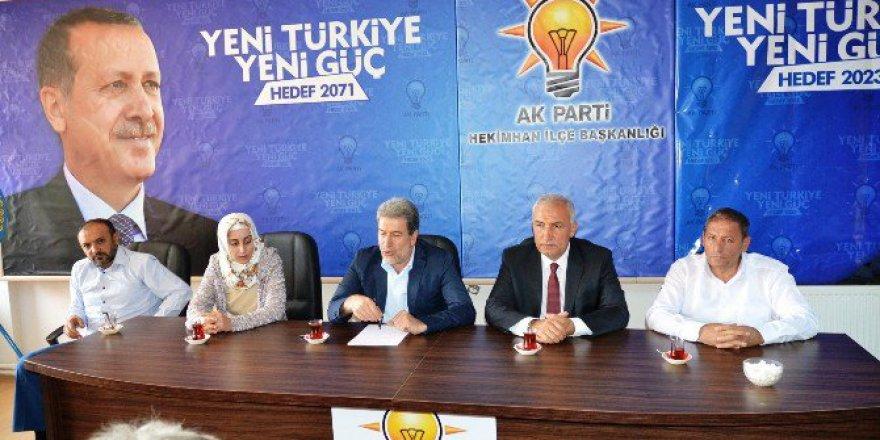 Milletvekili Yaşar'dan Hekimhan'a Ziyaret
