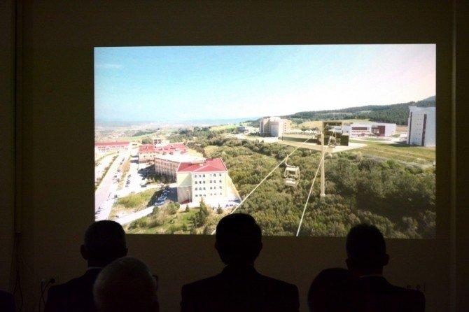 Çomü'ye Teleferik Projesi