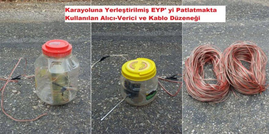 Diyarbakır'da yol kenarına tuzaklanmış EYP ele geçirildi