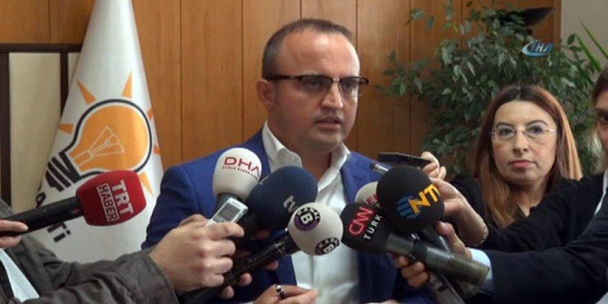 AK Parti Grup Başkanvekili Bülent Turan'dan CHP'ye ağır itham