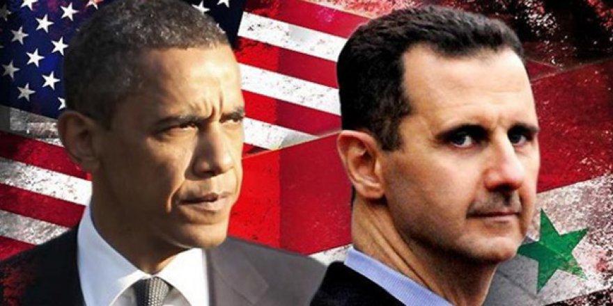Esad'dan Şaşırtan ABD iddiası!