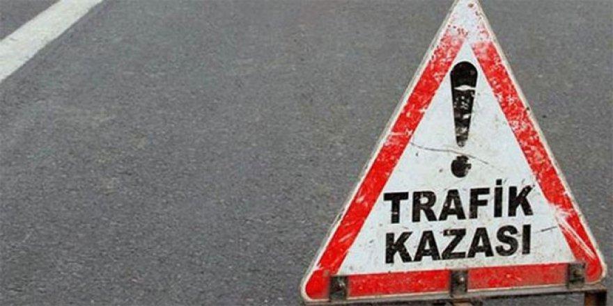 Kütahya'da yoldan çıkan otomobil devrildi: 3 yaralı