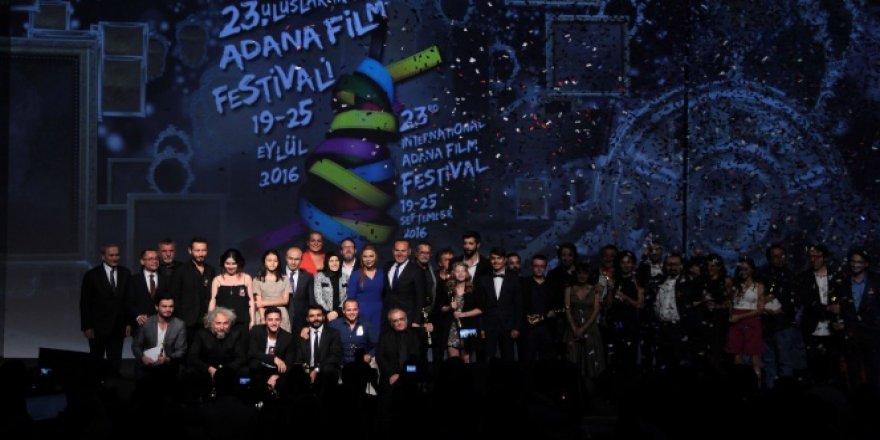 'Adana Film Festivali'nde harika final
