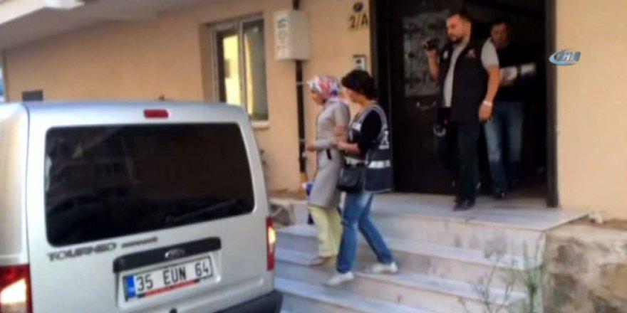 İzmir Adliyesi'nde FETÖ operasyonu!