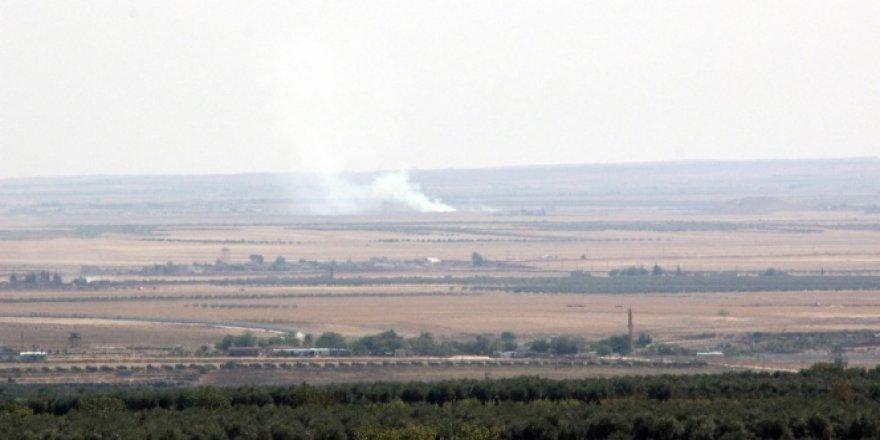 Fırtına obüsler aralıklarla RAİ bölgesindeki DAEŞ hedeflerini vuruyor