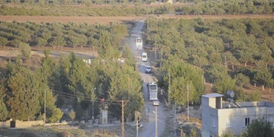 ÖSO askerleri sınıra takviye olarak sevk edildi