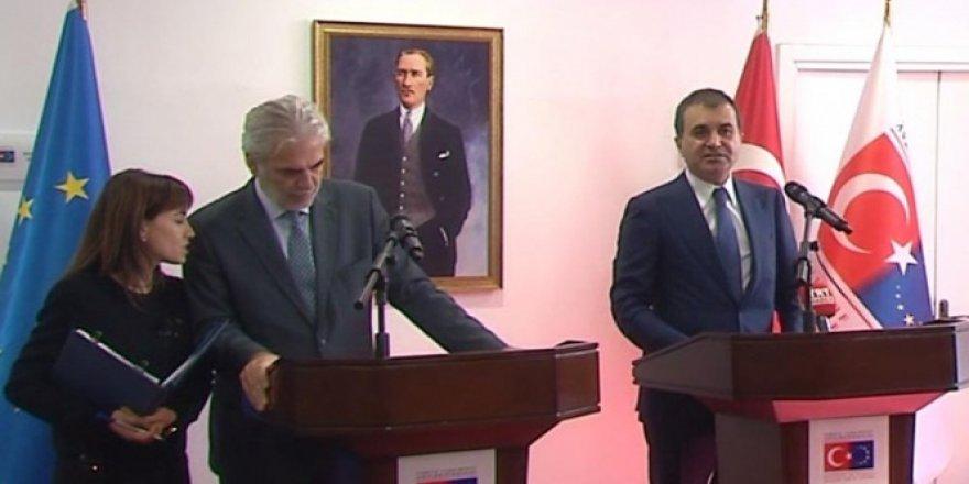 Bakan Ömer Çelik, Birleşik Krallık Dışişleri Bakanı Johnson ile bir araya geldi