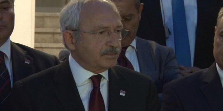 Kemal Kılıçdaroğlu: ''Neden bu kadar şehidimiz geliyor, annelere ne anlatacağız biz''