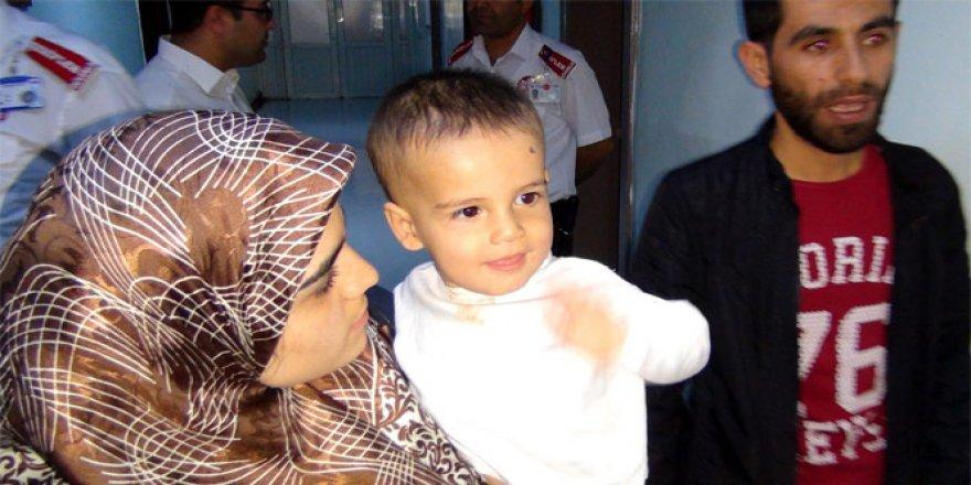 Gaziantep'te Suriyeli anne bebeğini hastanede unuttu