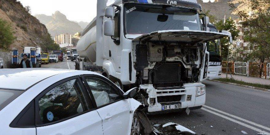 Gümüşhane'de Korkunç Trafik Kazası: 1 Yaralı