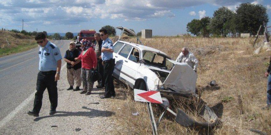 Çanakkale, Bayramiç'te Trafik Kazası: 1 Yaralı