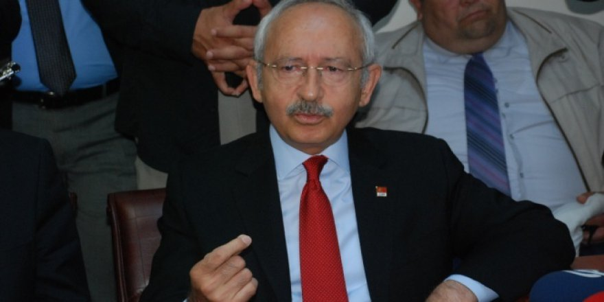 Başkan Kemal Kılıçdaroğlu, Adil Öksüz'le ilgili soruları cevaplamadı