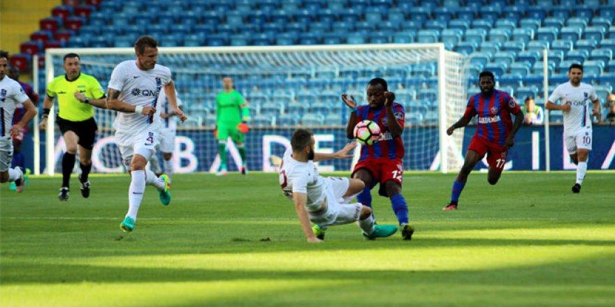 Karabükspor: 4 - 0 Trabzonspor