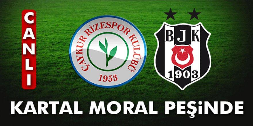 Çaykur Rizespor 0 - 0 Beşiktaş