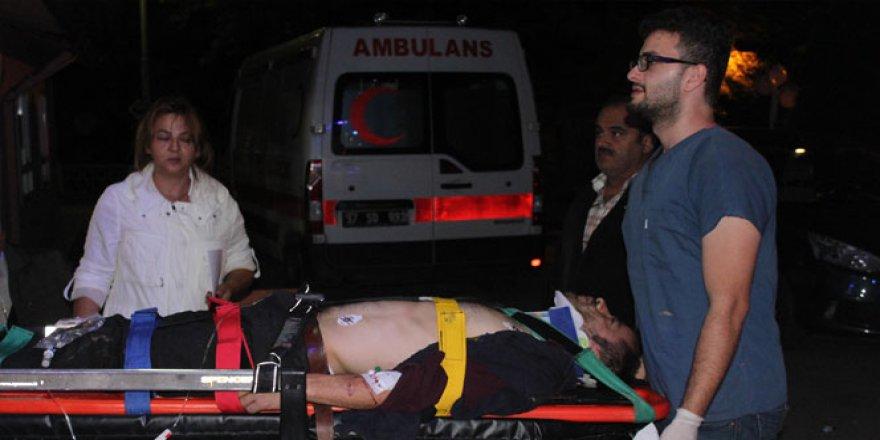 Kastamonu'da kestane ağacından düşen genç, ağır yaralandı