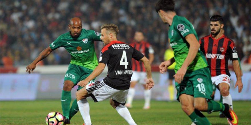 Gaziantepspor 3 - 2 Bursaspor