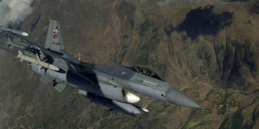 20 dakikada PKK'ya ait 8 hedef imha edildi