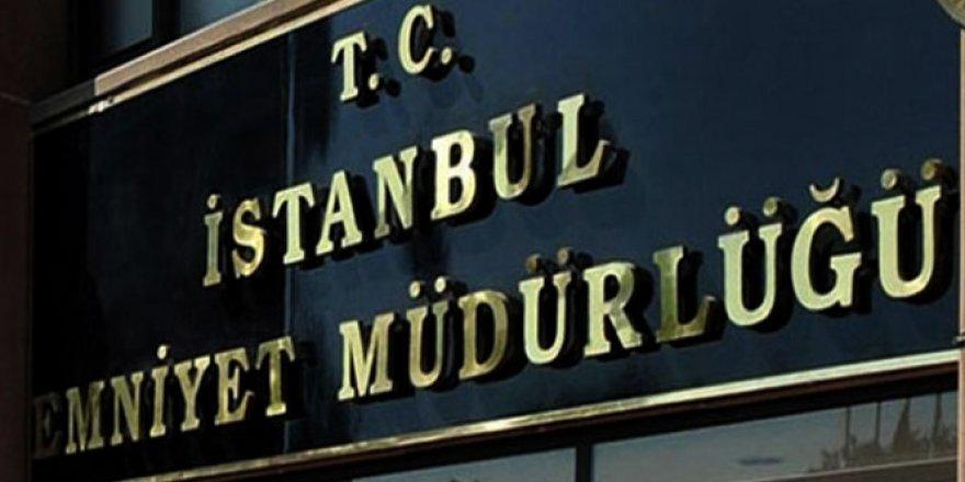 İstanbul Emniyet Müdürlüğü, 757 personel görevden uzaklaştırıldığını açıkladı