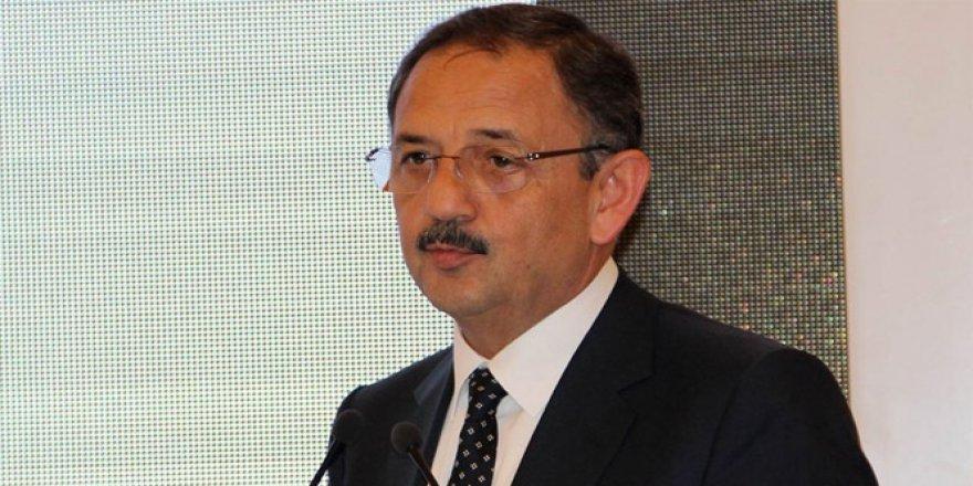 Bakan Özhaseki: ''Boşaltılan askeri alanlar..''