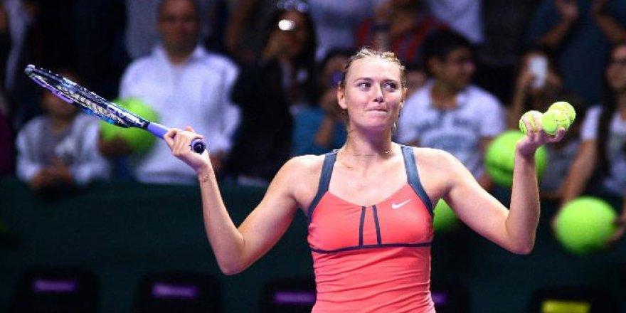 Maria Sharapova'nın cezası 2 yıldan 15 aya indirildi