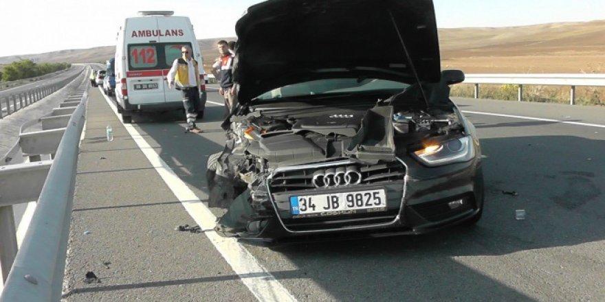 Konya, Kulu'da trafik kazası: 1 yaralı