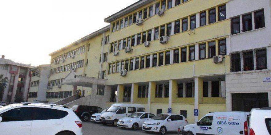 Nazilli Kaymakamlığı Girişine Polis Güvenlik Binası