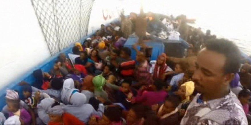 2 günde 10 bin mülteci!