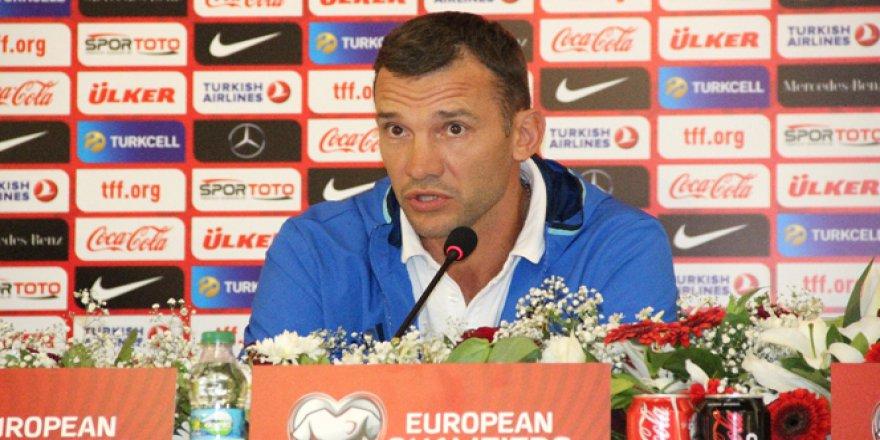 Andriy Shevchenko: 'Yarın ki maç gerçekten gerilim dolu geçecek'