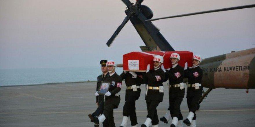 Şehit Uzman Çavuş Onur Tunçel'in Cenazesi Trabzon'a Getirildi