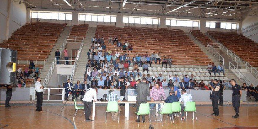 Şanlıurfa, Viranşehir'de İşkur Kurası Çekildi