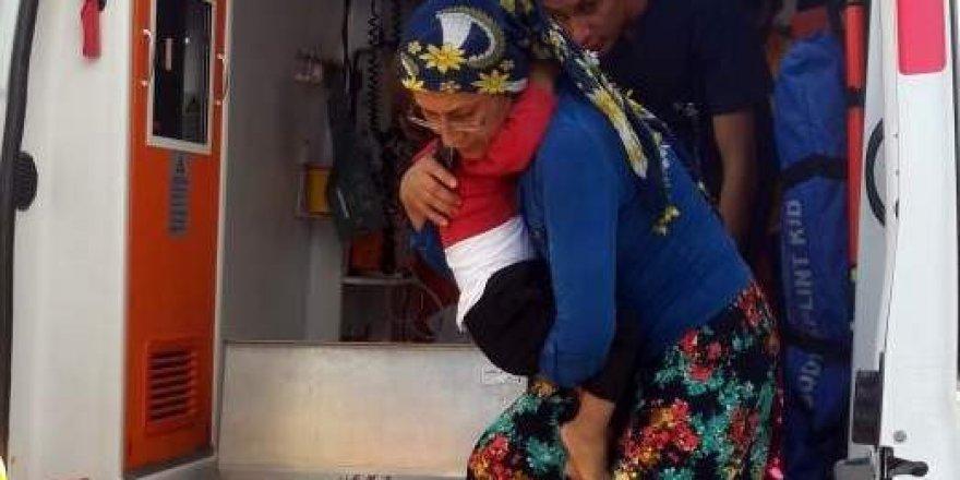 Adıyaman'da 2.kattan Düşen Çocuk Yaralandı