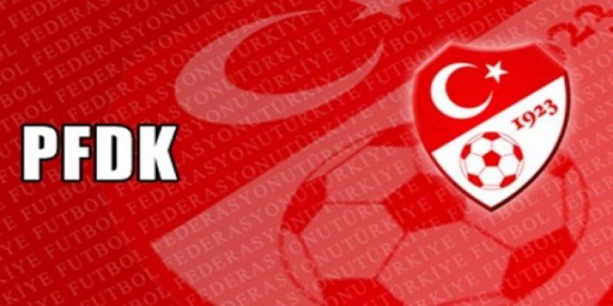 PFDK, 4 Süper Lig kulübüne ceza verdi!