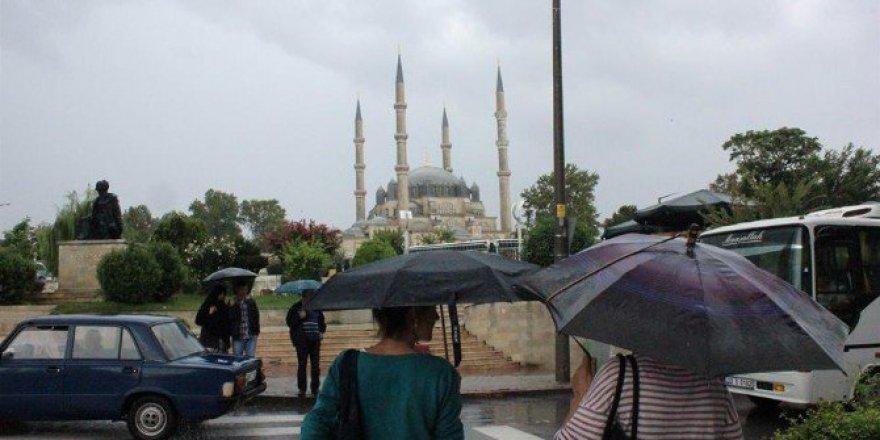 Edirne'de Hafta Sonuna Yağışla Başlayacak