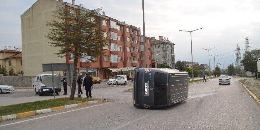 Kastamonu, Tosya'da Trafik Kazası: 1 Yaralı