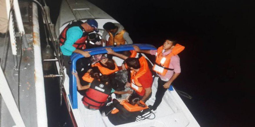 Dikili ve Çeşme'de 65 Kaçak Göçmen Yakalandı