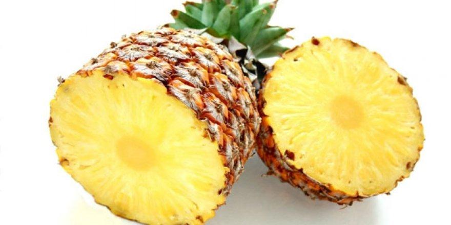 Fazla yağlarınızdan ananas suyu ile kurtulun